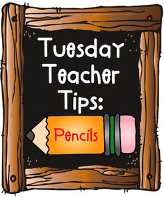 Classroom management tip: Pencils plus FREE printable