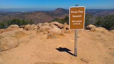 Kwaay Paay Peak Trail in Mission Trails Regional Park is a short, but challenging out and back hike. San Diego Hiking, Hiking Trails, Regional, Park, Outdoor, Outdoors, Parks, Outdoor Games, Outdoor Living