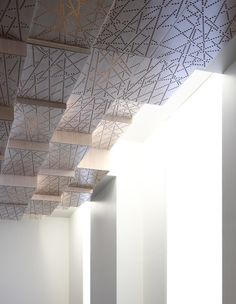 celling of the French Ministry for Agriculture Press Room (by H2O Architects)