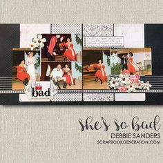Two Page, Five Photo Layout, Three Horizontal Photos, Two Vertical Photos Scrapbook Quotes, Wedding Scrapbook, Scrapbook Pages, Scrapbook Templates, Scrapbook Layout Sketches, Scrapbooking Layouts, Bucket List Quotes, Bucket Lists, Scrapbook Generation