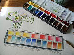 Re-Purposed Sketch Box (Delilah37) Tags: sketchkit