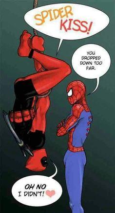 #Spiderman ♥ #Deadpool