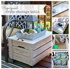 Dual purpose box/table