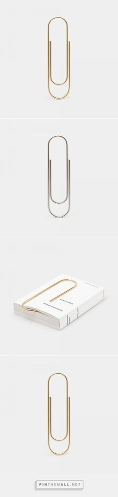 Carl Auböck Oversized Paperclip — Ode to Things - created via http://pinthemall.net