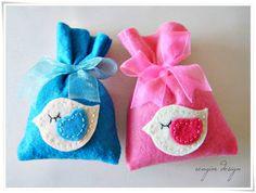 Felt Baby Shower Gift Bags