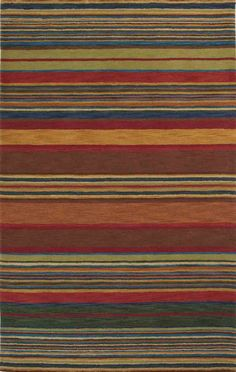 This is available in custom sizes.  Would want to order a sample to check quality.  RugStudio presents Trans-Ocean Inca Stripes Multi 9441/44 Hand-Tufted.  $16/sq ft at 13x15' = 195 sq ft = $3120 retail price.