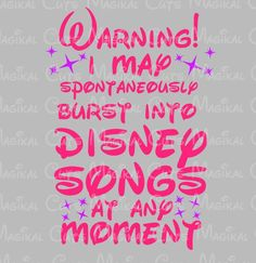 Disney Songs SVG, Studio, EPS, and JPEG Digital Downloads – Magikal Cuts