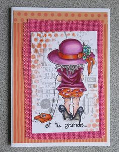 Big shoes...BY STAMPING BELLA