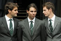 Roger, Rafa and Andy