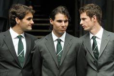 Roger, Rafa and Andy