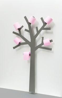 toilet paper storage ideas tree