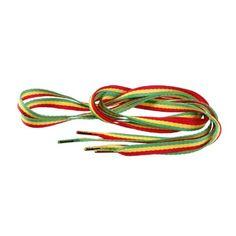1 Paar Tubelaces Flat - Flach - 8,0 mm breit - verschiedene Farben und Längen + Rema Metallschlüsselring Ø 2 cm (120 cm, Rasta) - http://uhr.haus/masterdis/120-cm-1-paar-tubelaces-flat-flach-8-0-mm-breit-und-2-31
