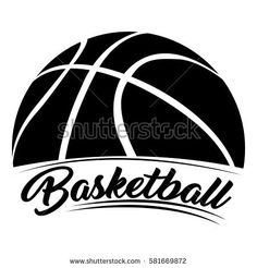 Imágenes similares, fotos y vectores de stock sobre Stylized basketball with a pennant swooping around it and the word basketball inside the pennant. Basketball Shirt Designs, Basketball Mom Shirts, Logo Basketball, I Love Basketball, Basketball Design, Basketball Quotes, Basketball Leagues, Basketball Uniforms, Basketball Season