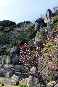 One of the biggest buddha statues in Japan in Chiba (Nokogiriyama): http://zoomingjapan.com/travel/nokogiriyama-nihonji-daibutsu/
