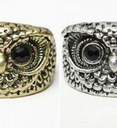 Black Eyed Owl ring | JuDeLovesYou
