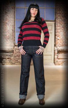 Ladies Worker Jeans - 50s Denim | Rockabella Style
