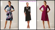 The amazing Reverse Wrap dress. you can wear it 3 different ways! Reversible Dress, Style Blog, Personal Stylist, Everyday Fashion, Wrap Dress, Stylists, Amazing, How To Wear, Dresses