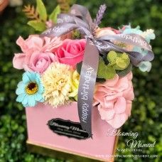 A delightful arrangement of a variety of soap flowers that your loved one to cherish on their birthday. Flower Boxes, Flowers, Birthday Gifts, Happy Birthday, Flower Arrangements, Soap, Window Boxes, Birthday Presents, Happy Brithday
