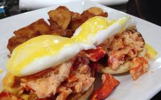 Boston's 50 Best Dishes to Eat Before You Die - Lobster Benedict at North Street Grille - Boston, MA