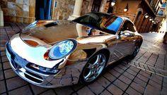 Stunning PORSCHE 911 CARRERA With Chrome body custom made.