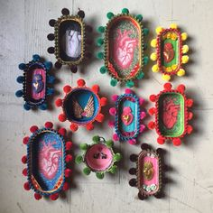 Mexican Crafts, Mexican Folk Art, Upcycled Crafts, Recycled Art, Patsy Stone, Gifts For Swimmers, Tin Art, Quirky Gifts, Assemblage Art