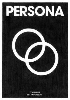 Persona Minimal Poster