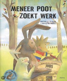 Meneer Poot zoekt werk - Nathalie Sloss, Rocio Del Moral - #jeugdboeken #prentenboeken - plaatsnr. K SLOSS /001