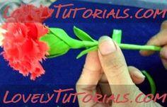 carnation gumpaste flower tutorial