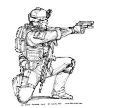 20 minutes of quality dry or live fire training every week beats 4 hours of firing hundreds of rounds into paper once or twice a month. ~  D. Kellerman U.S. Special Forces