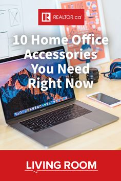 Are you still on that WFH grind? Outfit your home office with these ten must-have accessories on REALTOR.ca Living Room.  #wfh #homeoffice #office #officeaccessories #homeofficeideas #homeofficedecor