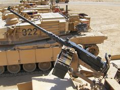Heavy Machine Gun, War Machine, M1 Abrams, Us Armor, Combat Gear, Military Modelling, Battle Tank, Big Guns, United States Army