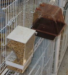 bird seed feeders for cages