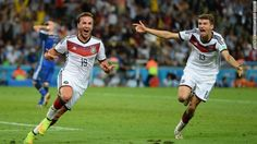 Germany wins World Cup for fourth time