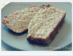 Homemade coconut bread