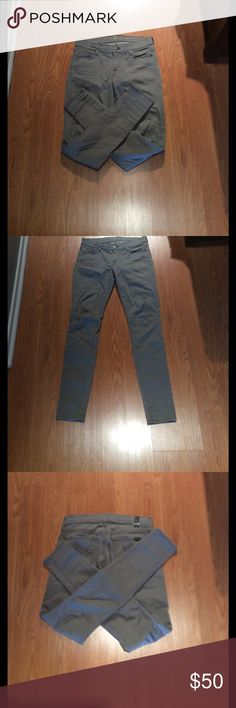 Seven For All Mankind gray skinny jeans. For sale is a pair of brand new gray Skinnys, a must for your closet! Check out my closet I bundle! Original tag is partially on pants. 7 For All Mankind Jeans Skinny