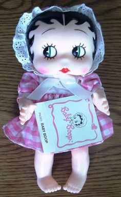 Baby Betty Boop  My mother who was a doll collector and Betty Boop fan would have loved Baby Betty.