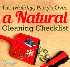 Holiday #party cleanup tips that won't have you scrubbing all day.