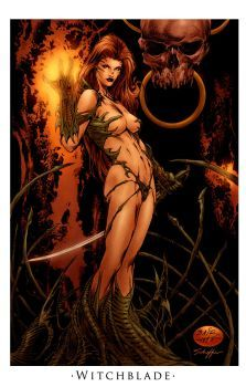 WitchBlade_by NorthChavis by MichaelBair