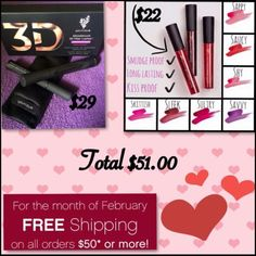 Did you know that every purchase made through a Younique presenter also supports the Younique foundation . The foundation is a retreat for sexually abused woman where they can go to begin their healing process  We Uplift, Empower, and Validate each other. We are so much more than mascara ❤ Spoil yourself this Valentine's Day www.ssinchy.com