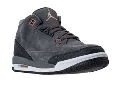 The hub page for the Air Jordan 3 GS Anthracite where you'll find the latest images, release information, and other updates.