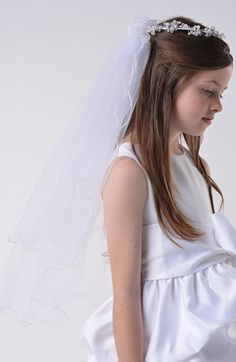Us Angels Communion Wreath Veil available at #Nordstrom