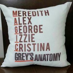 Almofada Grey's Anatomy Magic
