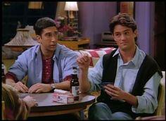 So 90s Chandler Bing. Friends.