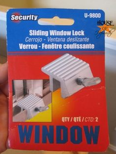 Great idea for kids bedroom windows. But I'd be paranoid we'd have another fire and he wouldn't be able to escape. Sliding Window Lock, Window Locks, Sliding Windows, Safe Home Security, Baby Safety, Safety Tips, Baby Education, Natural Baby, Florida Home