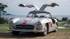 Not only was the Mercedes 300SL a pleasure to look at, with its effortless lines and delicate gullwi... - Flickr | Axion23