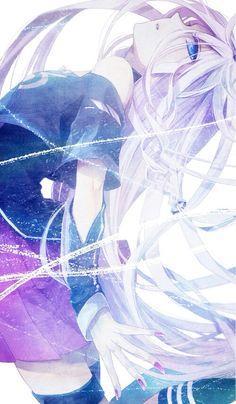 Anime girl. Ia. Vocaloids