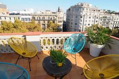 Paseo de Gracia en otoño, , els jardinets, #barcelona  #events  #autumn  #terrace  #kokun #avenir