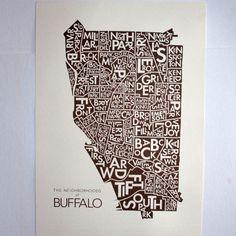Neighborhoods of Buffalo