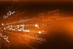 données: fond internet avec le code binaire