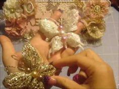 Gorgeous Handmade Butterflies!!!! Handmade Flowers, Diy Flowers, Fabric Flowers, Paper Flowers, Shabby Chic Flowers, Shabby Chic Crafts, Butterfly Crafts, Flower Crafts, Graphic 45